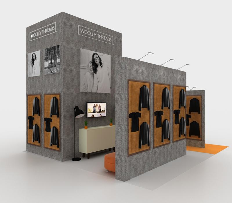 Retail Trade Show Exhibit