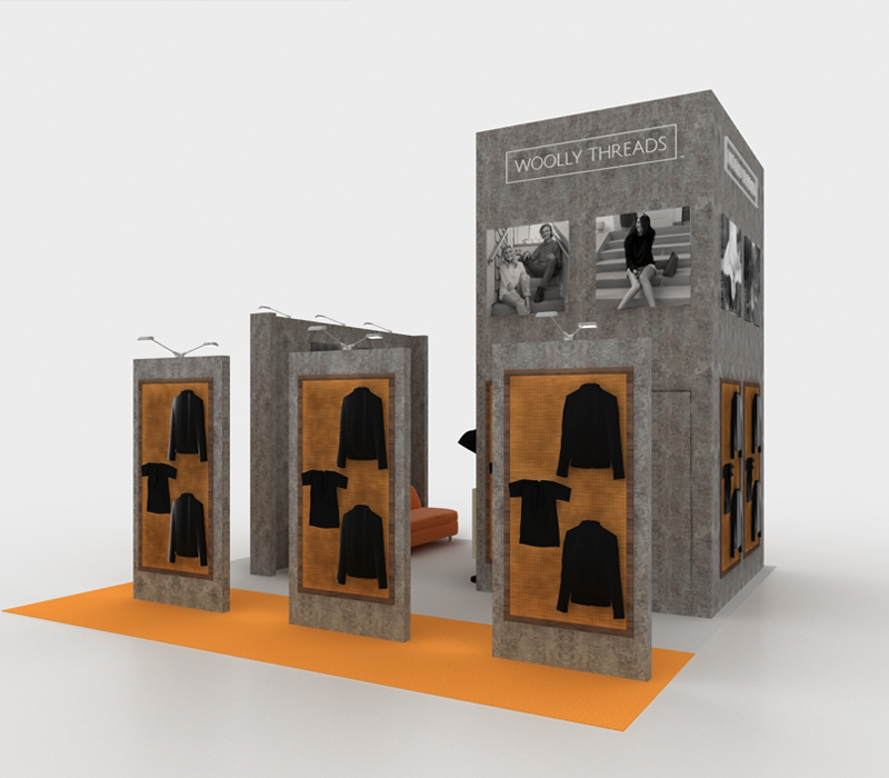 20X20 Retail Trade Show Display