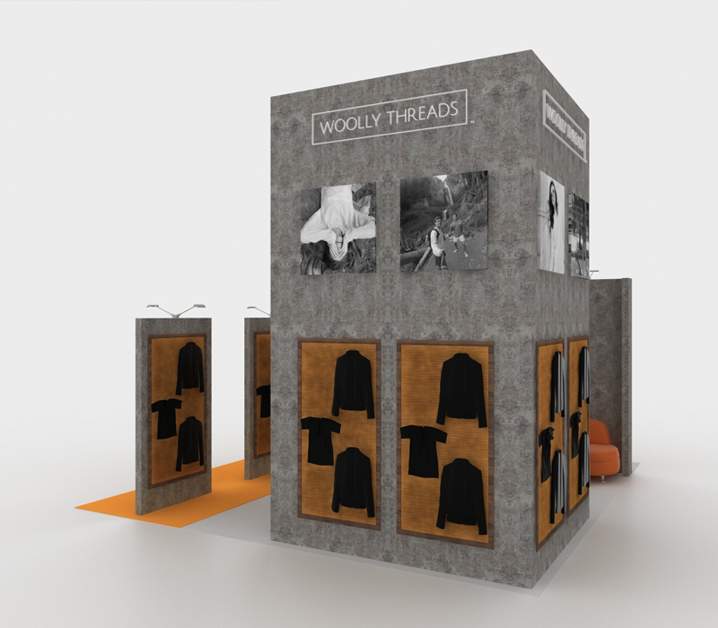 20X20 Retail Trade Show Booth