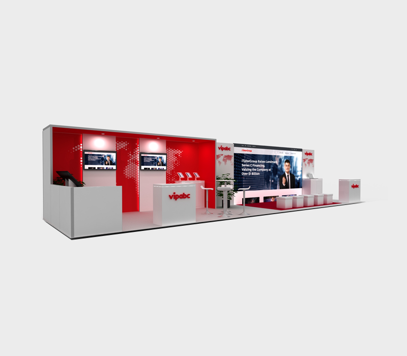 10x40 Trade Show Booth Designs