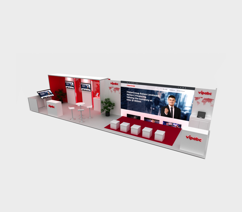 10x40 Trade Show Exhibit Ideas