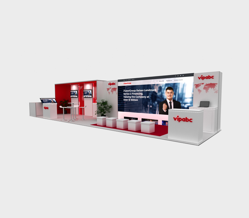 10x40 Trade Show Booth Ideas
