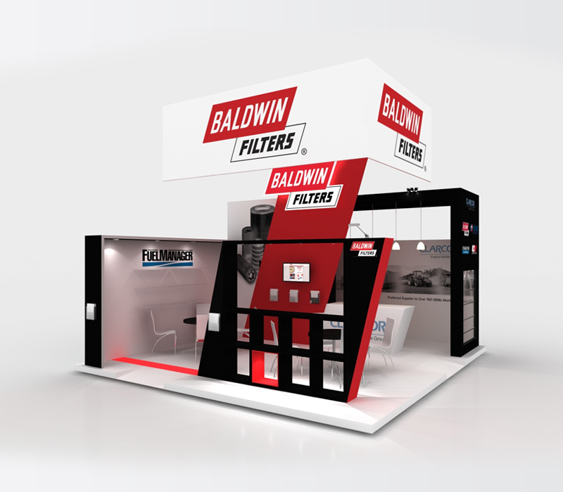 20x20 Custom Trade Show Exhibit Ideas