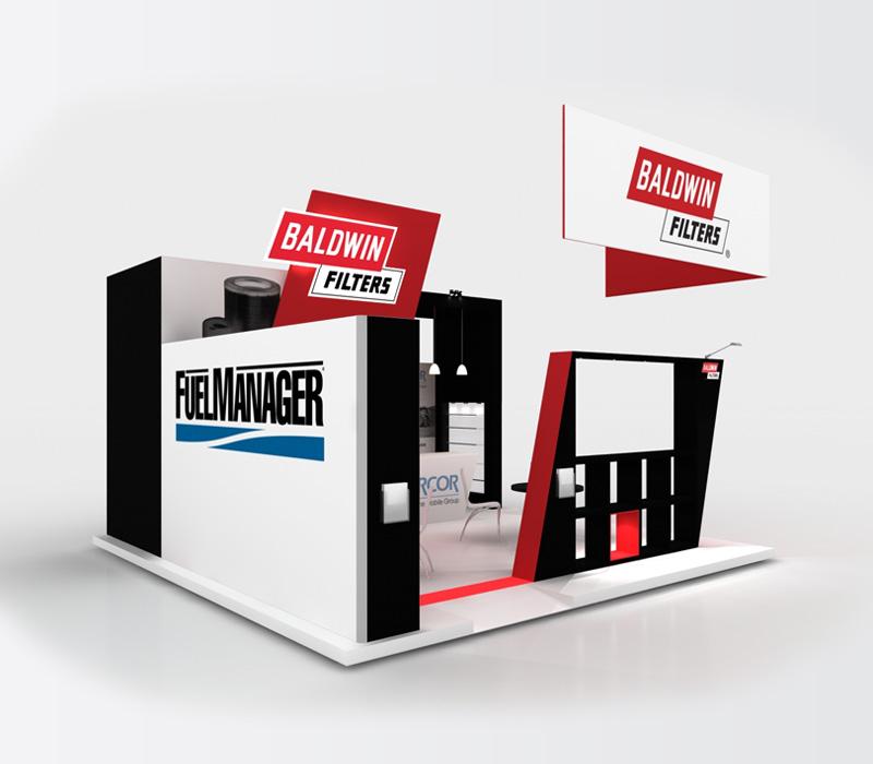 20x20 Custom Trade Show Booth