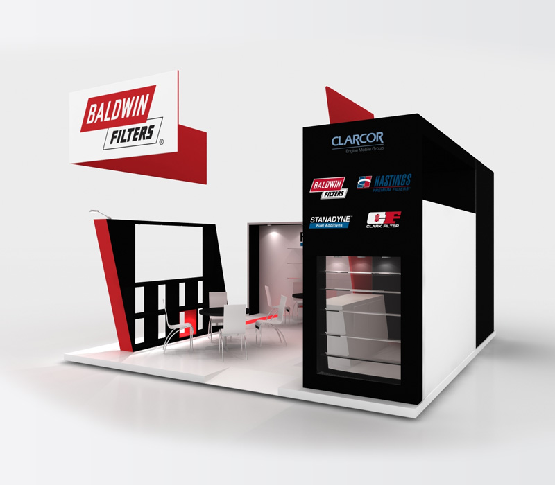 20x20 Custom Trade Show Display Ideas