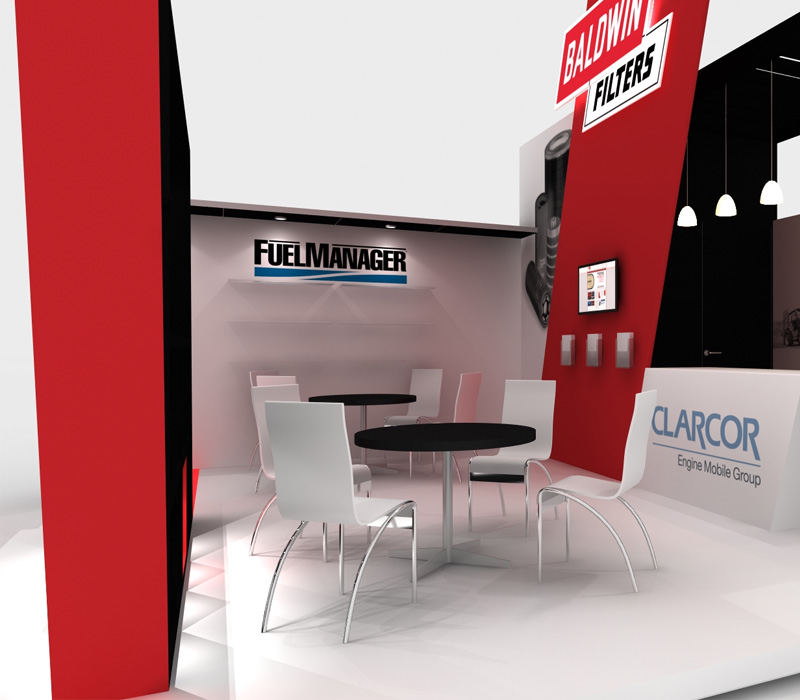 20x20 Custom Trade Show Display Meeting Room