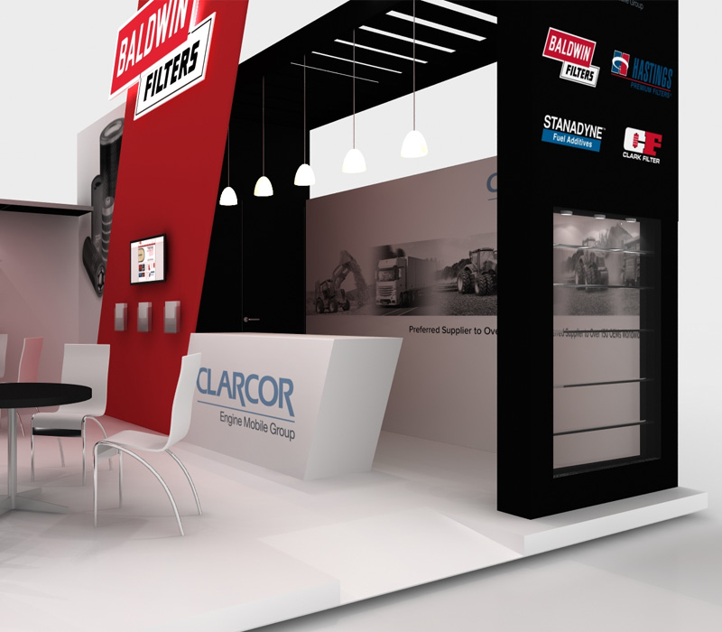 20x20 Custom Trade Show Booth Ideas