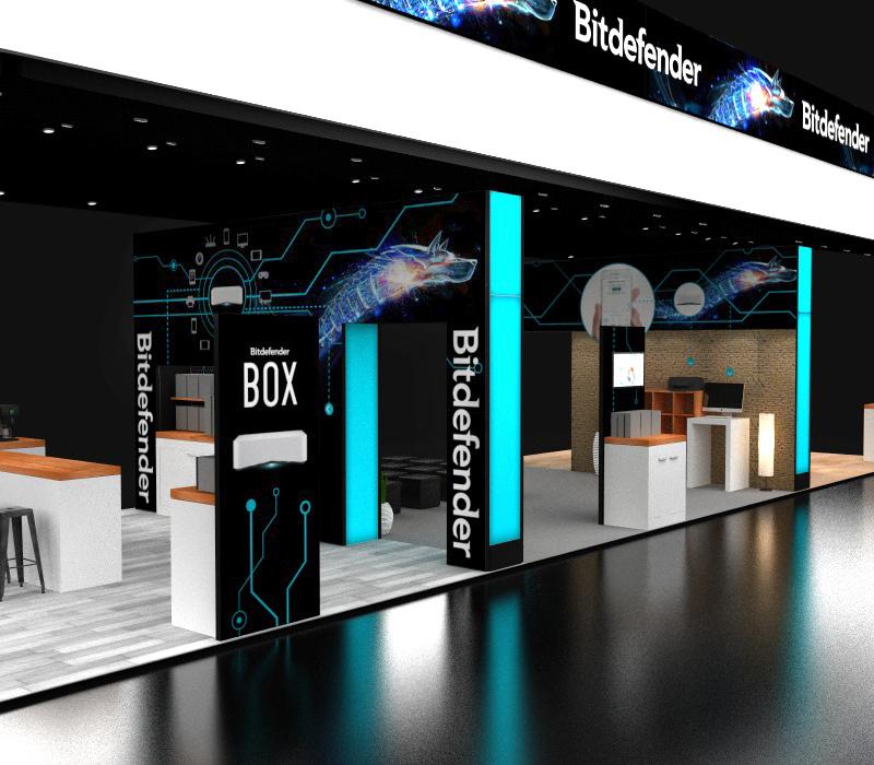 20x60 CES Booth Ideas