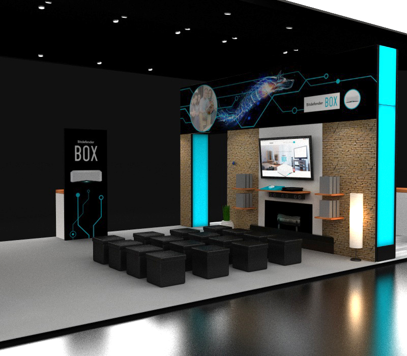 20x60 CES Display Ideas
