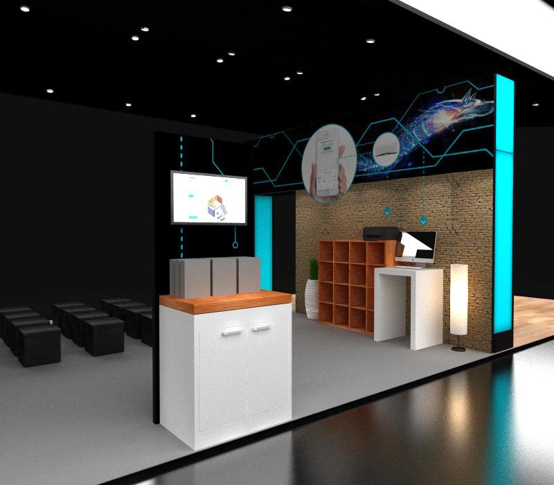 20x60 CES Exhibit Ideas