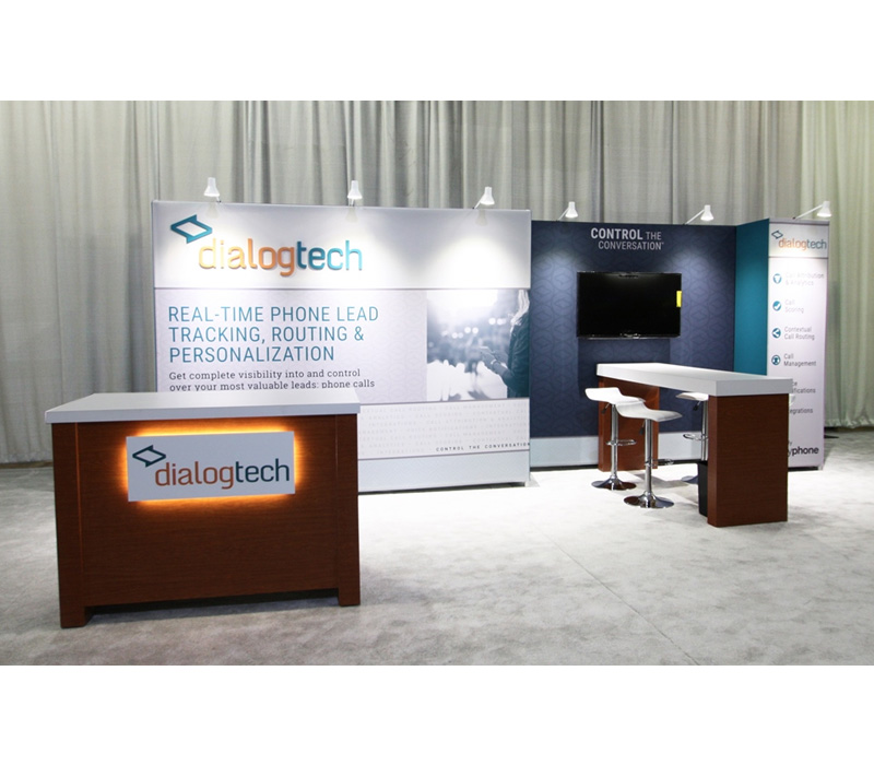 10x20 fabric booth