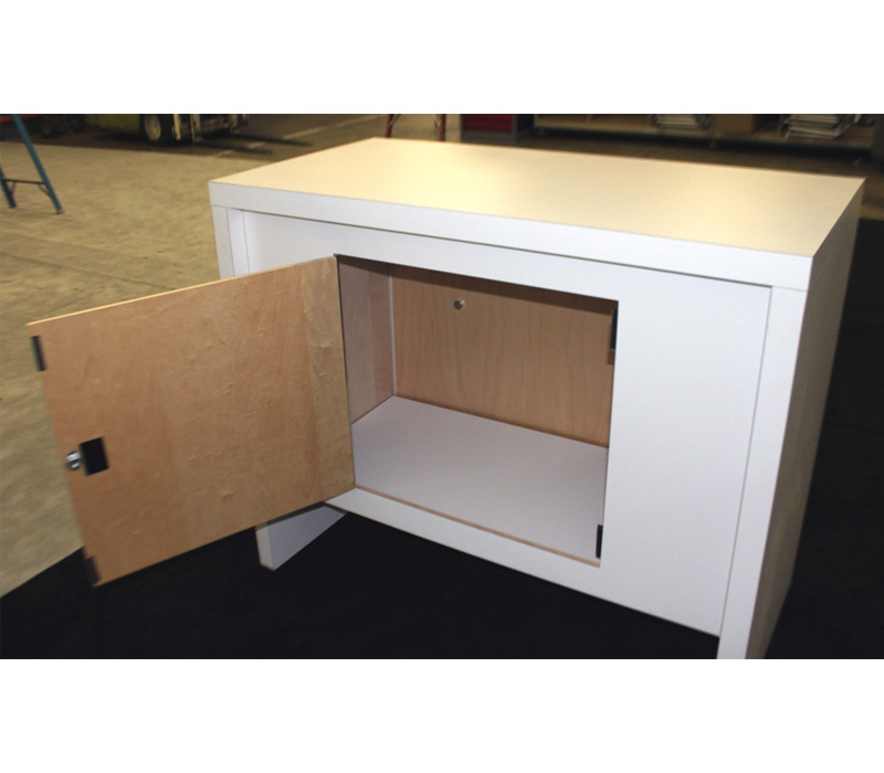 Custom counter with storage