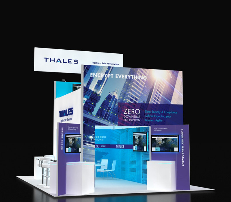 Thales Double Deck Exhibit 20x30