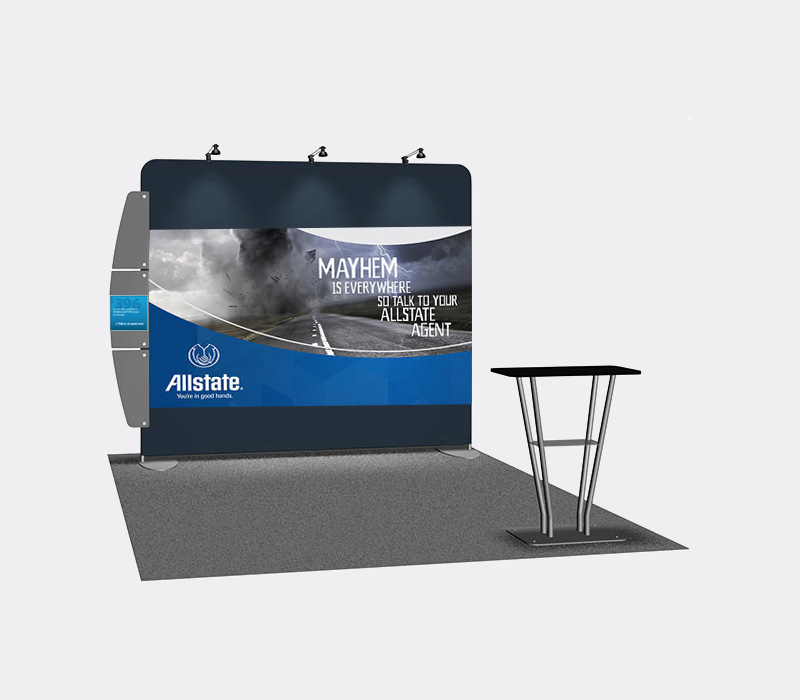 10 x 10 Portable Booth