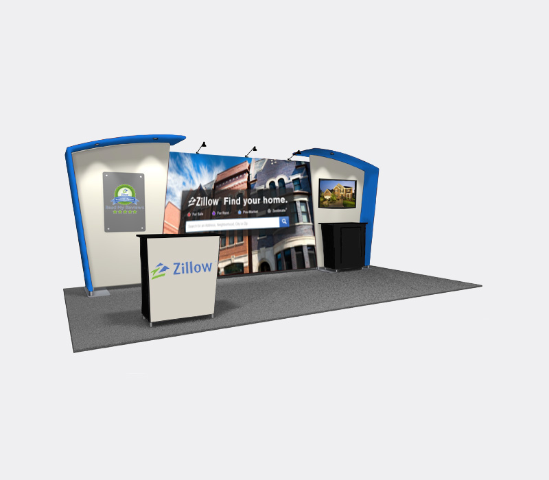 Portable 10 x 20 Exhibit