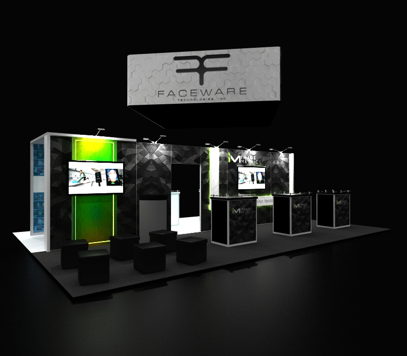 faceware tech 20 x 30 Booth