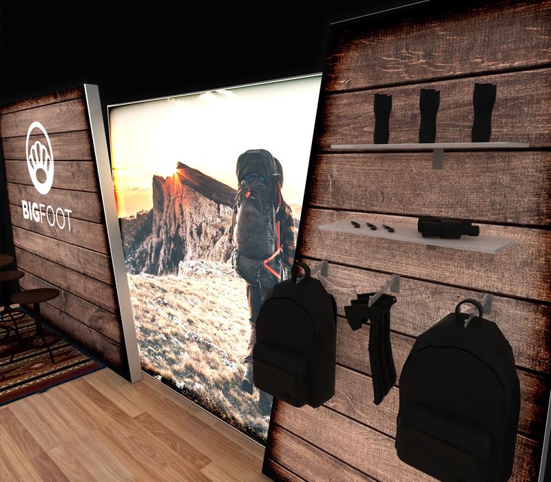 20 x 8 Lightbox Booth