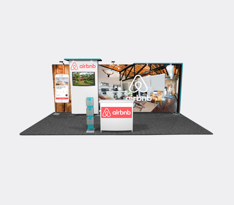 Portable Fabric Trade Show Booths