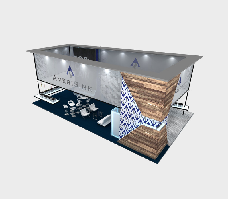 30x50 Custom Trade Show Display