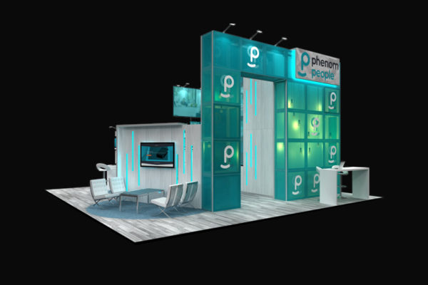 phenom people 30 x 30 - Booth Design Ideas