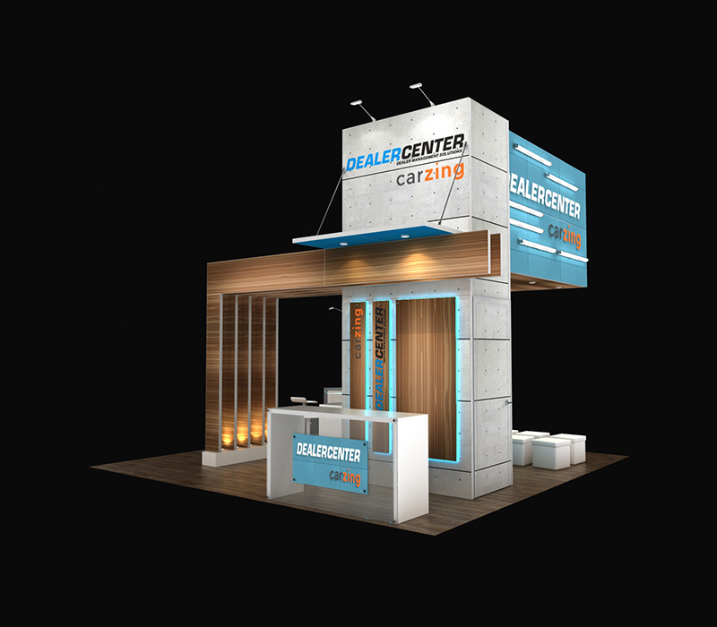 20x20 expo booth