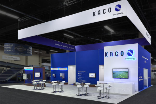 Custom Kaco Trade Show Booth