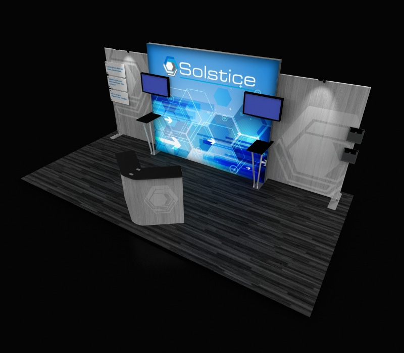 portable lightbox booth
