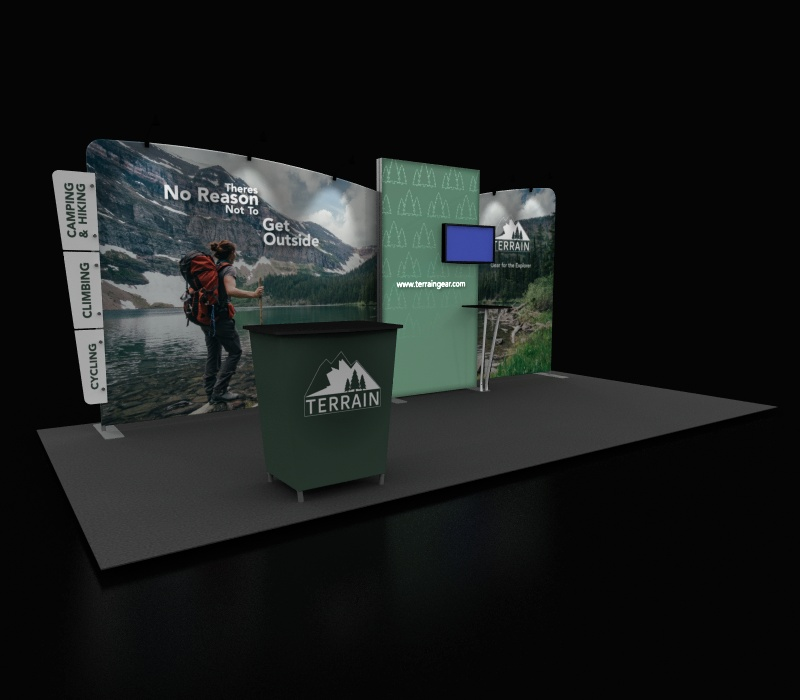 retail pop up booth