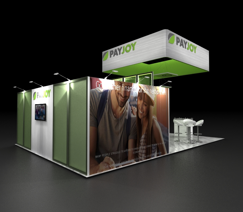 custom expo display graphics