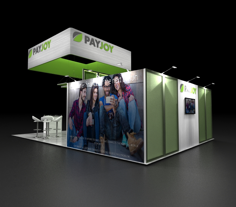 custom booth graphics