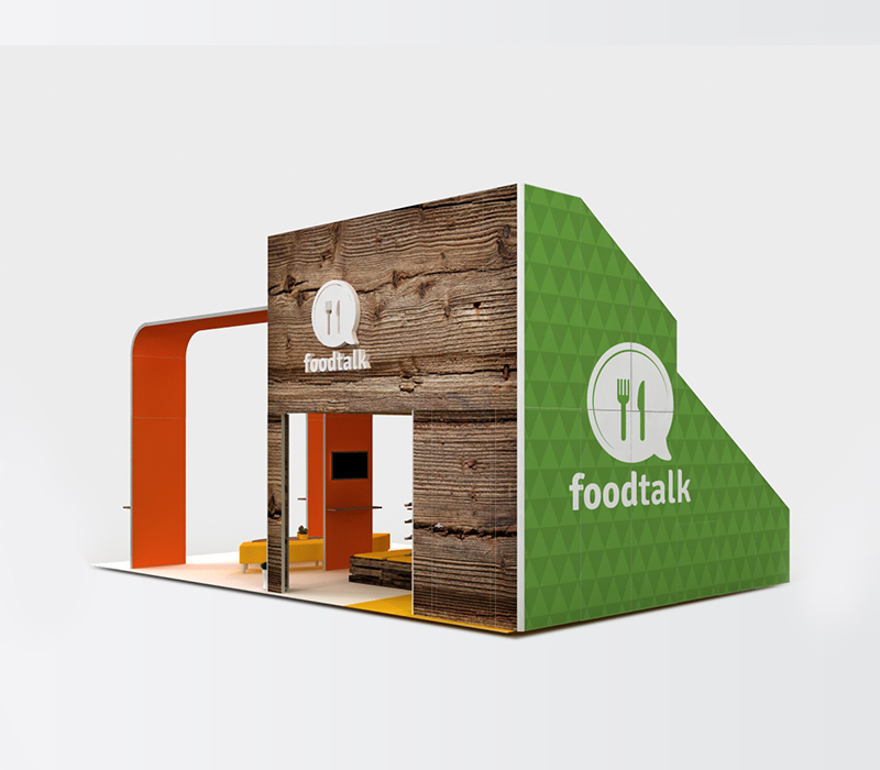 trade show booths food industry