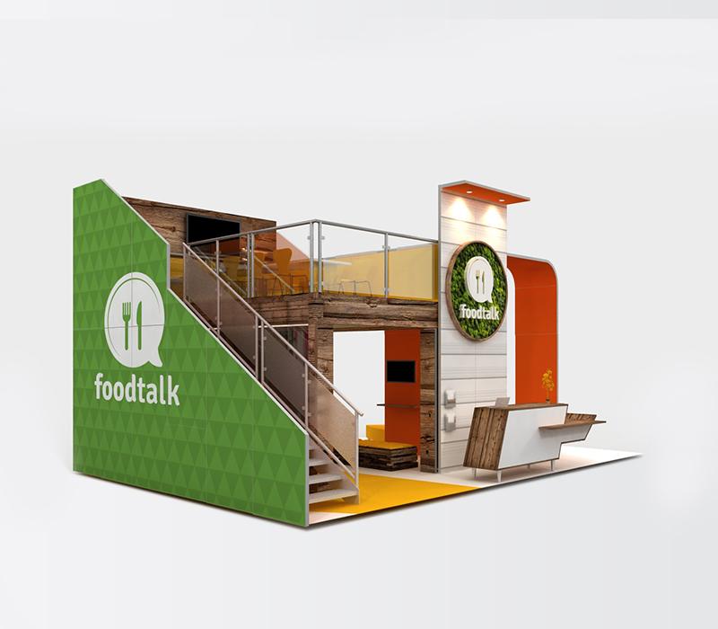food industry trade show display