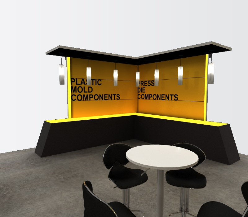 trade show displays meeting space
