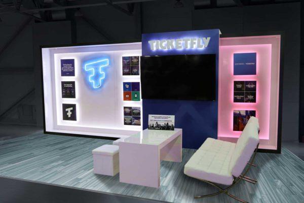 Ticketfly 10 x 20 - IFEA 2017 Tuscon, AZ