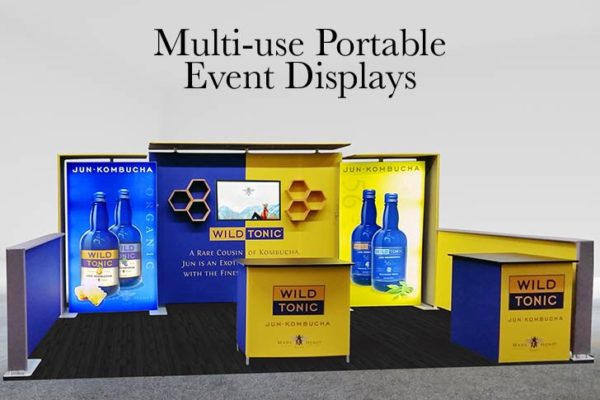 Multi-use Portable Event Displays
