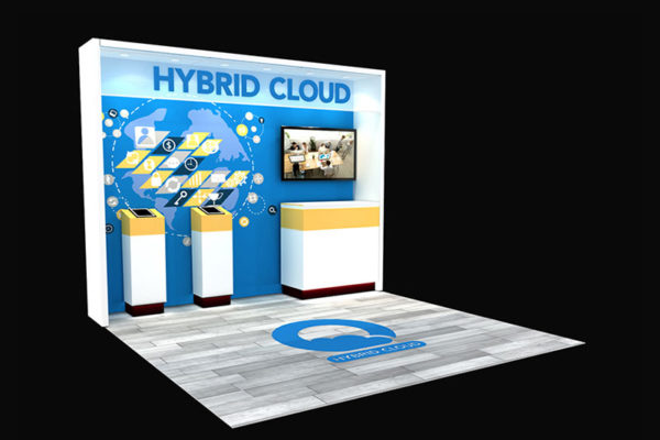 10 x 10 trade show display