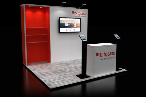10 x 10 Ideas for custom trade show booth