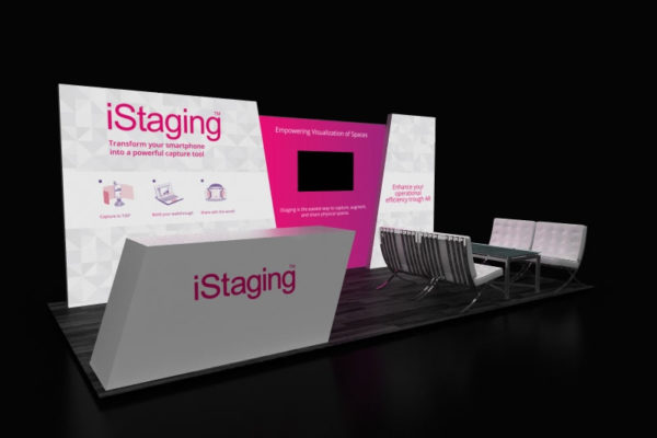 20 x 8 Lightbox Booth