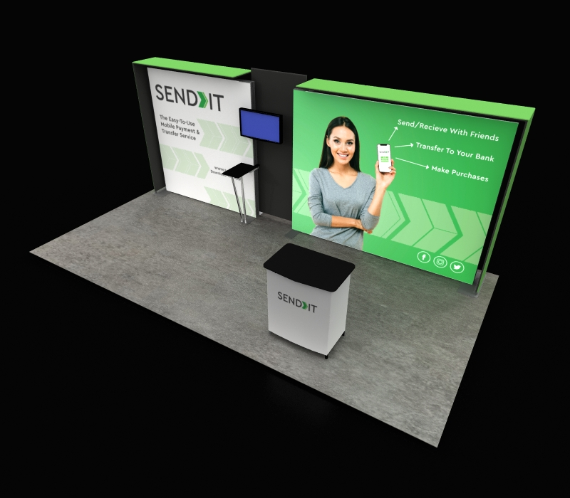 portable trade show display