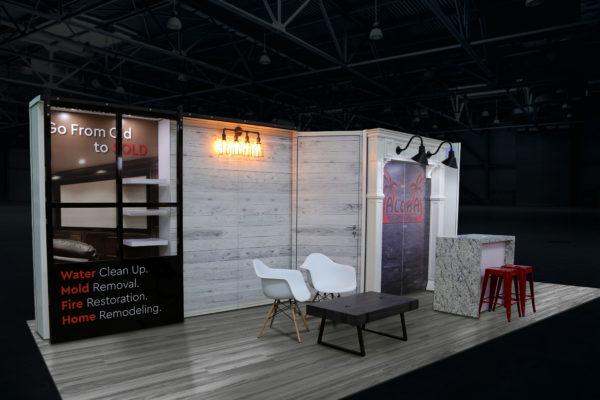 Home & Garden Show custom trade show display