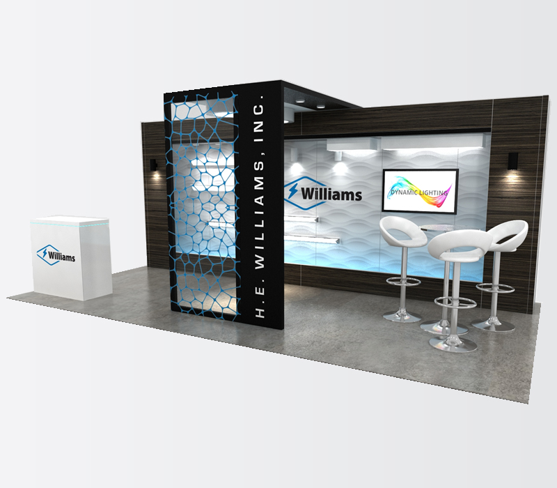 10 x 20 trade show display