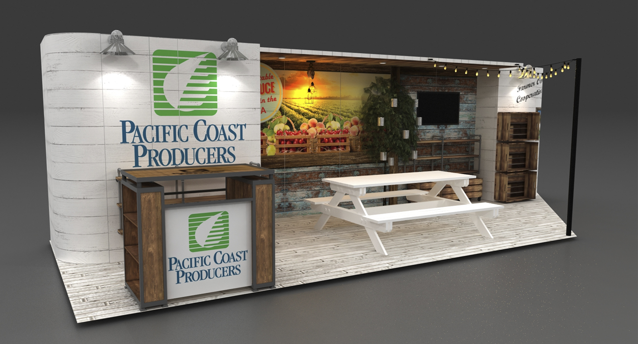 Natural Products Expo West Trade show booths