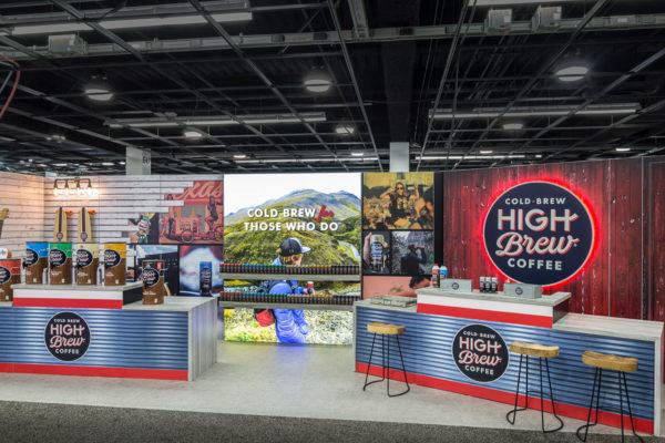 High Brew 10 x 30 - NPEW 2018 Anaheim