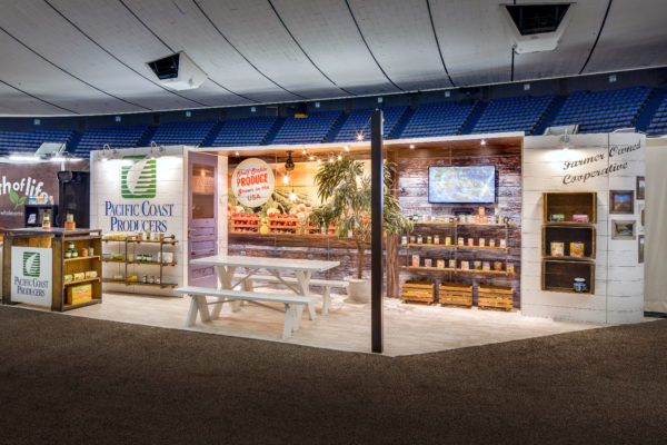 Natural Products Expo West booth
