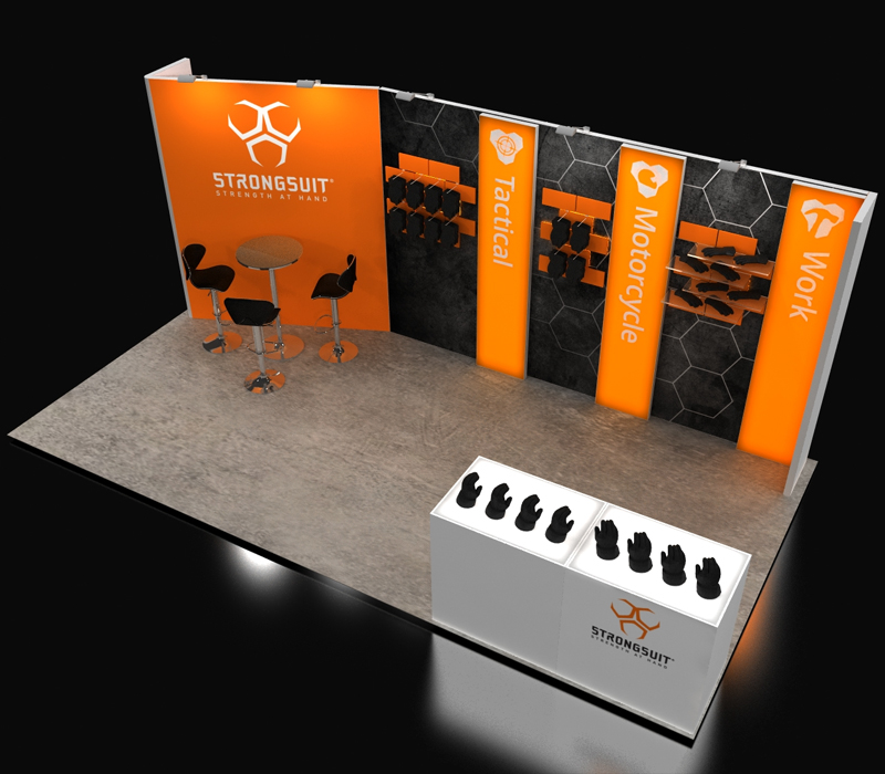 inline trade show display