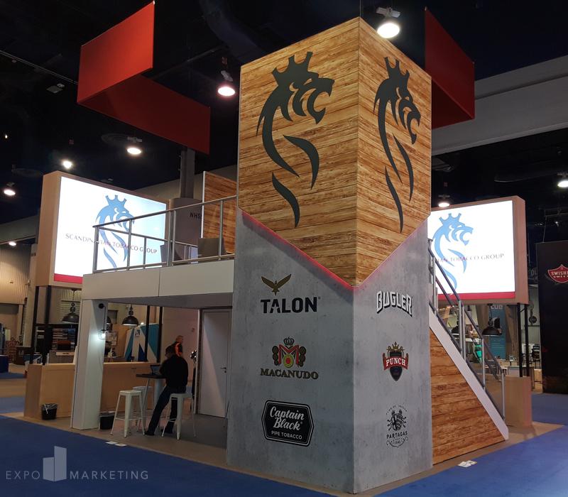 Exhibit Design Scandinavian Tobacco Group