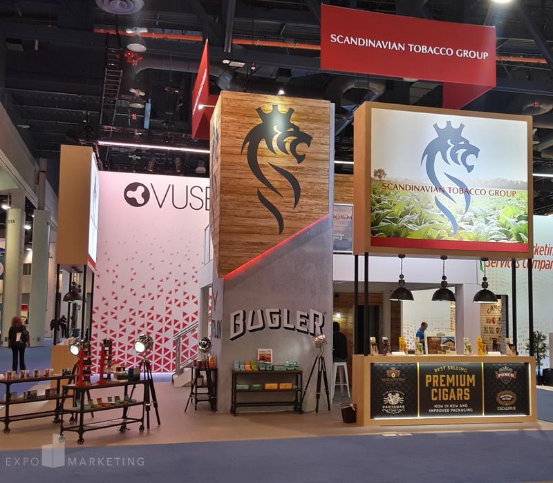 NACS Exhibit Design Scandinavian Tobacco Group