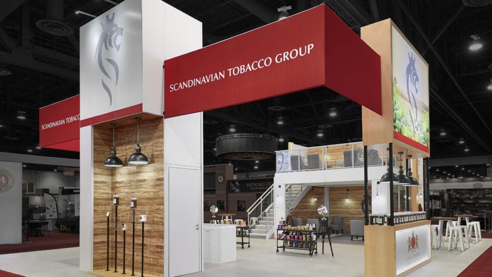 Award Winning Exhibit Design Scandinavian Tobacco Group