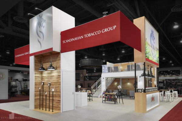 Award Winning Exhibit Design Scandinavian Tobacco Group
