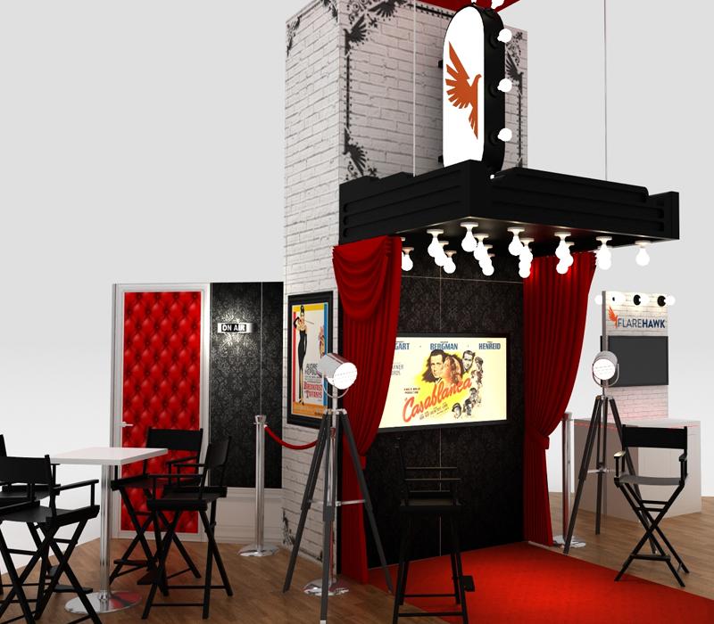 custom trade show exhibits design